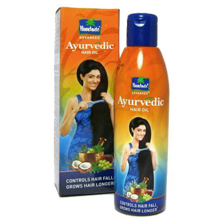 Ayurvedic. Масло против выпадения волос, 95 мл