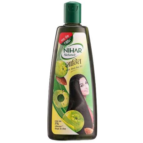 Nihar. Масло против выпадения волос с Амлой, 190 мл