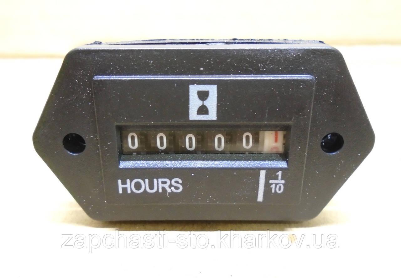 Счетчик наработки времени моточасов 10-80В