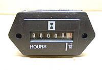 Счетчик наработки времени моточасов 10-80В, фото 1