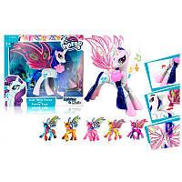 """Пони SM 2012 """"My little pony"""" в коробке 26-25- 6,5 см"""