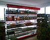 Новые стеллажи для магазина при АЗС. Металлические стеллажи для минимаркета. Торговый стеллаж ВИКО