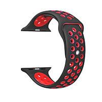 Ремешок ArmorStandart Sports для смарт-часов Apple Watch 42mm Black-Red, фото 1