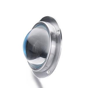 Линза для светодиодной матрицы 20-100W SL-67 67мм 60-80* с креплением Код.59297, фото 2