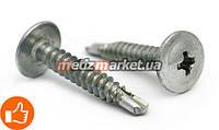 Cаморез по металлу с пресс-шайбой со сверлом (ПШБ) 4,2 x 25 мм (1000 шт.)