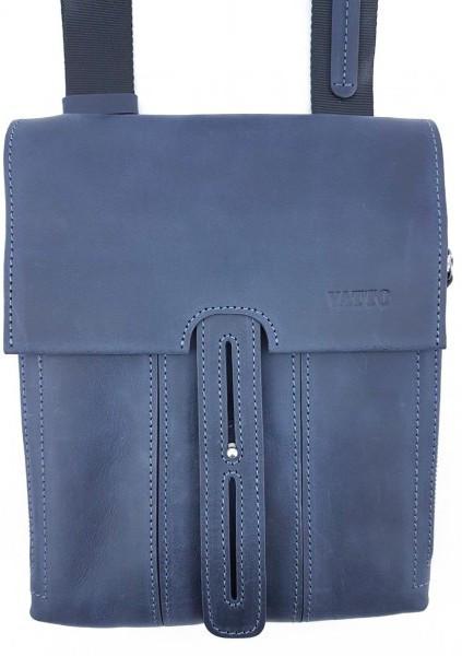 Чоловіча сумка з натуральної шкіри VATTO Mk81.1 Kr600, синій