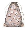 Рюкзак - мішок з принтом Хлопок