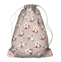 Рюкзак - мішок з принтом Хлопок, фото 1