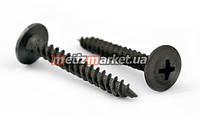 Саморез по металлу с пресс-шайбой черный (ПШ) 4,2 x 32 мм (500 шт.)