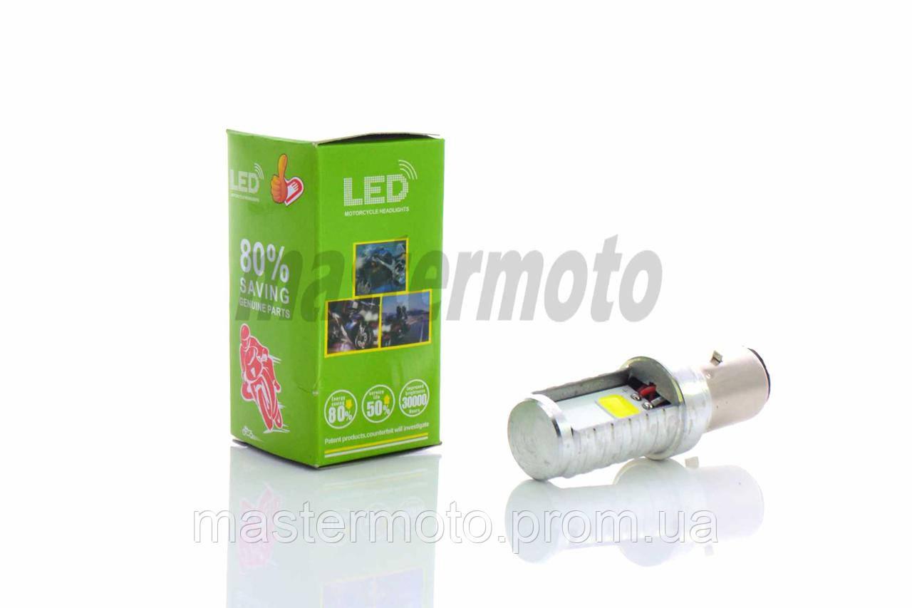 Лампа фары диодная LED  ВА20D 12V 35/35W