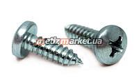 Саморез по металлу с полукруглой головкой DIN 7981 3,5 x 9,5 мм (1000 шт.)