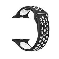 Ремешок ArmorStandart Sports для смарт-часов Apple Watch 38mm Black-White, фото 1