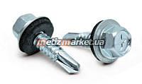 Саморез по металлу с шайбой (WSE) DIN 7504K 5,5 x 32 мм (200 шт.)
