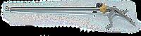 Ендокліпатор для великих титанових кліпс LAPOMED™, однобраншевий, 10х330 мм  LPM-0704.4
