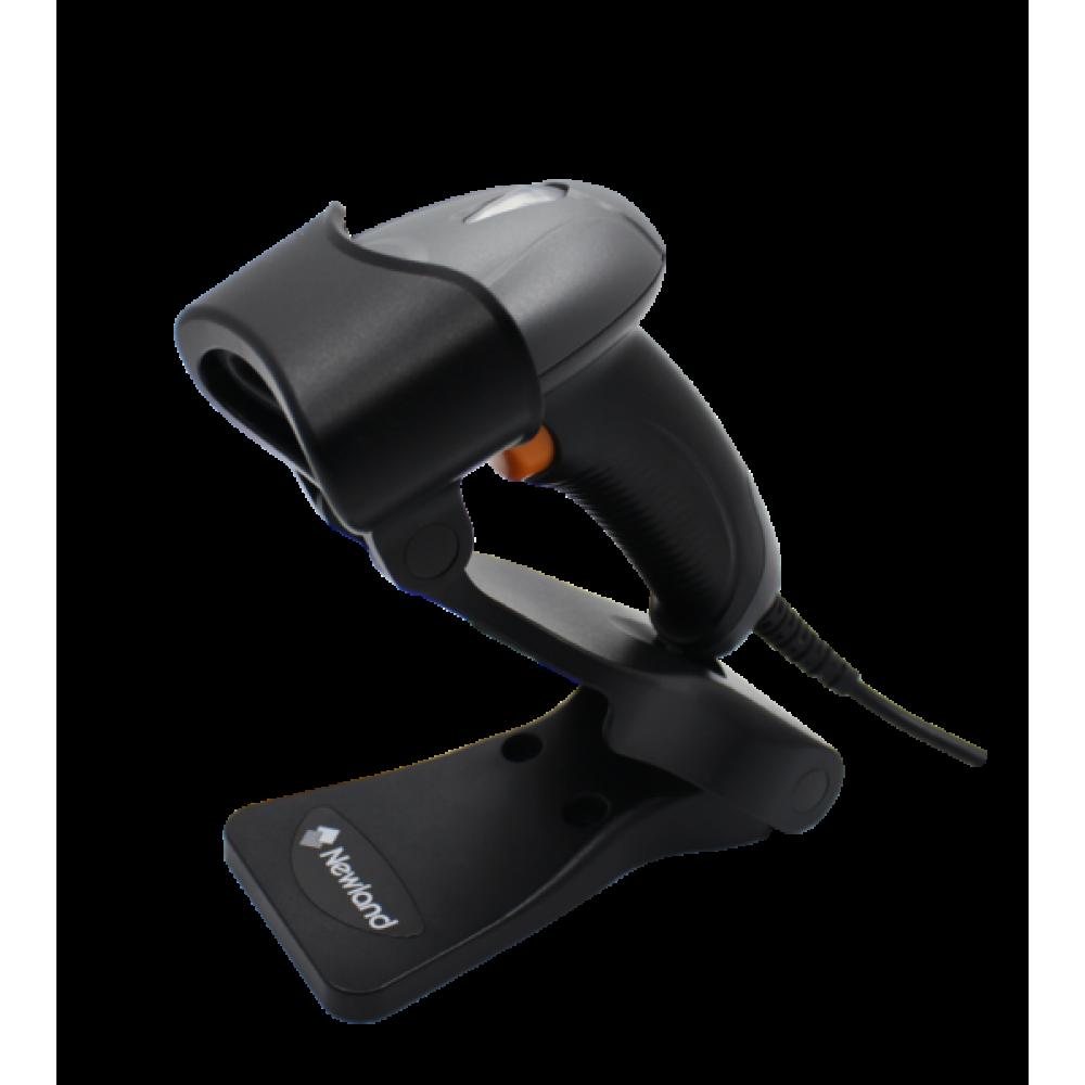 Ручной сканер штрих кода Newland HR 1060 Sardina с стойкой