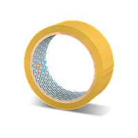 Скотч малярный Mixon Masking Tape 6260. 80°C. 19 мм x 45 м
