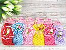 Детские повязочки на голову с цветами 12 шт/уп, фото 2