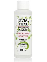 Жидкость для снятия лака без ацетона JOVIAl LUXE календула 100 мл NPR-100