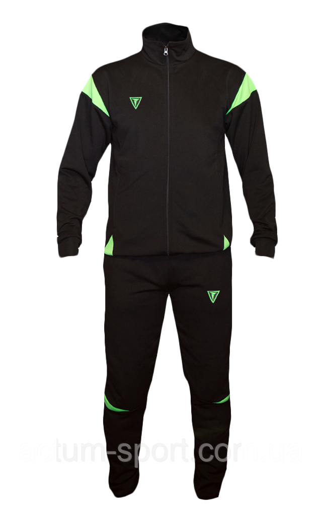 Спортивный костюм East Titar L, Черно/лимон