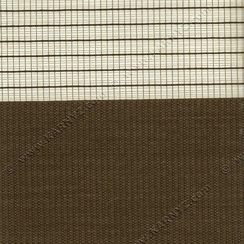 Рулонные шторы День-Ночь Феерия Z-637 коричневый