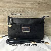 813378a400ec Двусторонняя Женская кожаная сумка Marc Jacobs