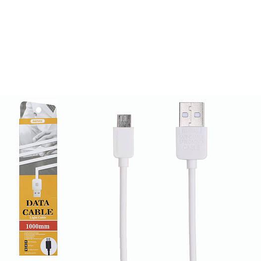 USB кабель Remax Light RC-006m MicroUSB 1m