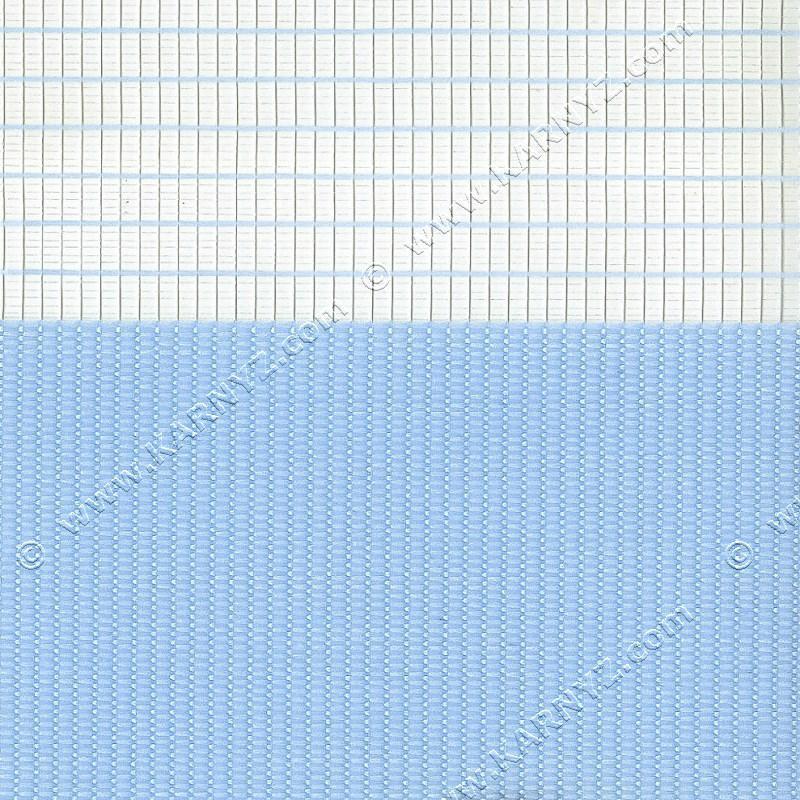 Ролета День-Ночь Феерия Z-639 голубой светлый