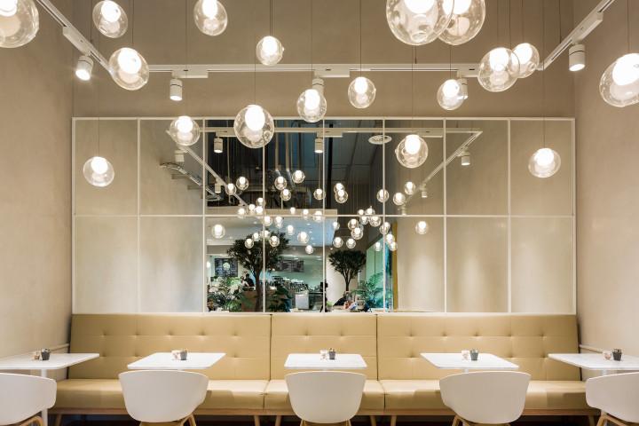 Зеркало в ресторан (кафе)