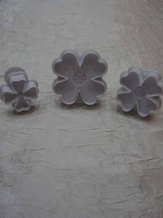 Плунжер кондитерский Цветы №1, фото 2