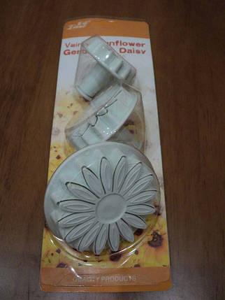 Плунжер кондитерский для мастики из 3-х Подсолнух, фото 2