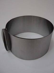 Кольцо кондитерское раздвижное Профи (высота 8см)