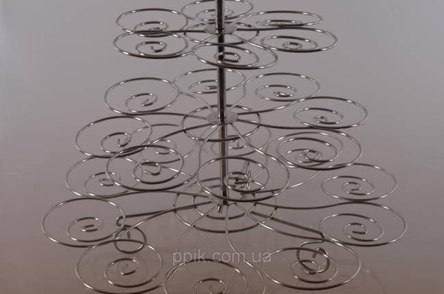 Стойка для капкейков металл Спираль, фото 2