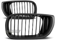 Решетка радиатора на BMW E46, черный, седан / универсал, 2001-2005 г/в