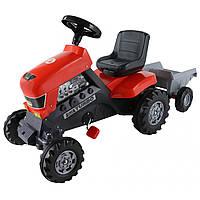 Педальная каталка-трактор Turbo c полуприцепом, «Полесье» (52681)