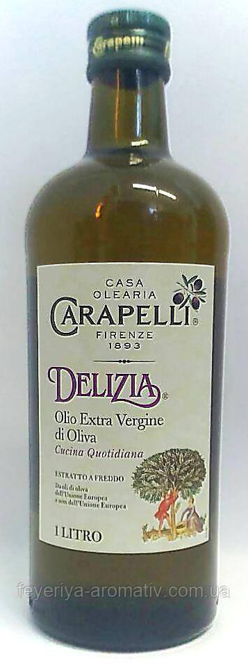Оливковое масло Carapelli Delizia Extra vergine di oliva 1л (Италия)
