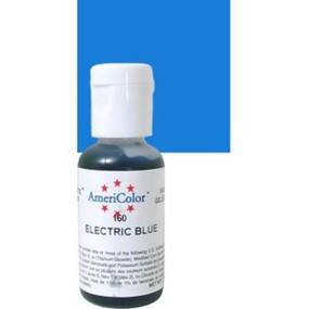 Краситель гелевый Americolor Электрический Синий (Electric blue), фото 2
