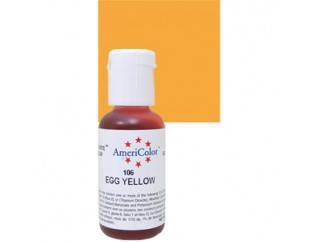 Краситель гелевый Americolor Яично -Желтый (Egg yellow), фото 2