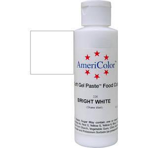 Краситель гелевый AmeriColor (Америколор) Яркий Белый 170, фото 2