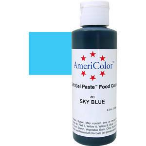 Краситель гелевый AmeriColor (Америколор) Небесно-Голубой 128г, фото 2