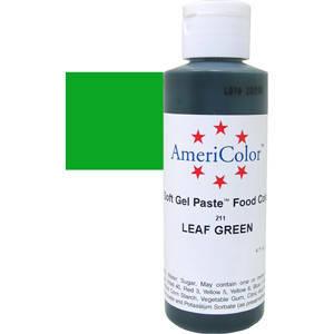 Краситель гелевый AmeriColor (Америколор) Зеленый Лист 128г, фото 2