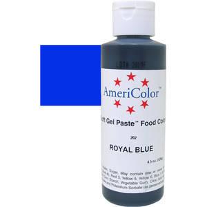Краситель гелевый AmeriColor (Америколор) Королевский Синий 128г, фото 2