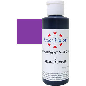 Краситель гелевый AmeriColor (Америколор) Царский  Пурпур (128г), фото 2