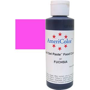 Краситель гелевый AmeriColor (Америколор) Фуксия  128г, фото 2