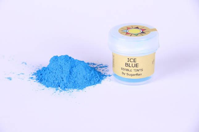 Краска сухая для цветов Sugarflair Голубой лед, фото 2
