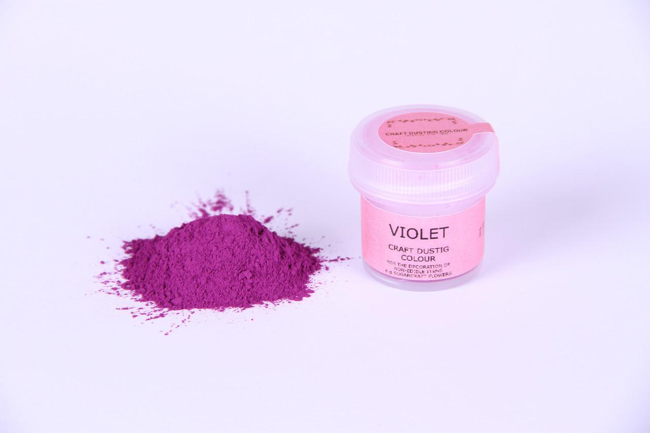 Краска сухая для цветов Sugarflair фиолетовый