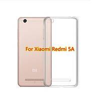 Силиконовый чехол прозрачный для Xiaomi Redmi 5A