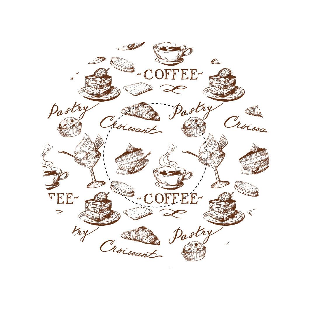 Капсулы для кексов Кофейня