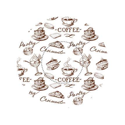 Капсулы для кексов Кофейня, фото 2