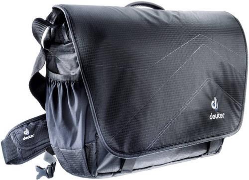 """Удобная, офисная сумка на плечо, для ноутбука 17,3"""" DEUTER OPERATE III, 85083 черный; серый"""
