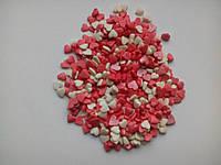 Посыпка Сердечки ассорти 50 грамм